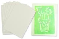 Plaques A4 pour linogravure - 6 plaques - Linogravure - 10doigts.fr