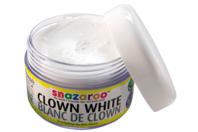 Maquillage blanc de clown - Maquillage - 10doigts.fr
