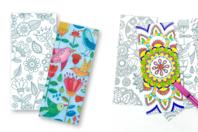 Marques-pages à colorier - 24 coloriages - Mandalas - 10doigts.fr