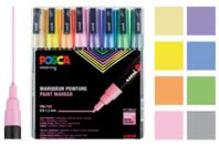 Marqueurs POSCA - Couleurs pastel - Marqueurs POSCA - 10doigts.fr