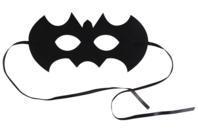 Masque chauve-souris en feutrine épaisse - Halloween - 10doigts.fr