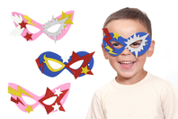 Kit création masques Super-héros - 6 masques - Masques - 10doigts.fr