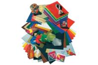 Assortiment géant de papiers et d'accessoires de Noël - Set de 198 - Papier effet métallisé, pailleté, nacré - 10doigts.fr