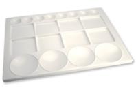 Maxi palette plastique 33 cm - Palettes et rangements - 10doigts.fr