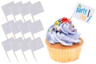 Mini-drapeaux à décorer - Anniversaires - 10doigts.fr