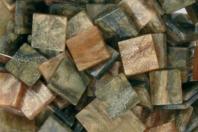 Mosaïques acrylique marbrées - Camaïeu de bruns - Mosaïques résine acrylique - 10doigts.fr