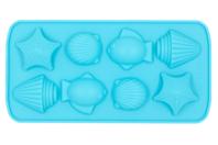 Moule savon en silicone - Poissons et coquillages - Moules savon - 10doigts.fr