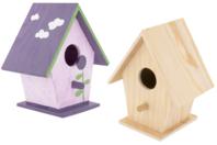 Nichoir à oiseaux en bois à poser - 9,5 cm - Nichoirs - 10doigts.fr