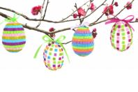 Kit création d'œufs à décorer en mosaiques - Kits activités Pâques - 10doigts.fr
