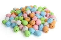 Mini Oeufs de pâques pastel - 100 oeufs - Décorations et accessoires de Pâques - 10doigts.fr