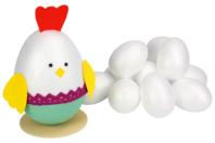 Oeufs en polystyrène - Supports de Pâques à décorer - 10doigts.fr