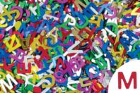 Paillettes lettres, couleurs assorties - Set d'environ 1500 - Paillettes fantaisie - 10doigts.fr