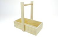 Panier droit en bois - Cuisine et vaisselle - 10doigts.fr