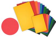 Papier grainé 220 gr - Packs multicolores - Ramettes de papiers - 10doigts.fr