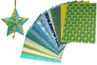 Papiers Indiens,Collection Kerala - 20 feuilles artisanales - Papier artisanal naturel - 10doigts.fr