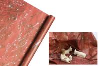 Rouleau papier kraft imprimé Rocher - Papiers cadeaux - 10doigts.fr