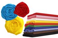 Papier crépon - A la couleur - Papiers de crépon - 10doigts.fr