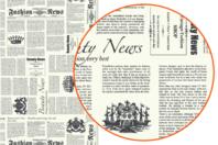 Papier Décopatch Journal - 3 feuilles  N°770 - Papiers Décopatch - 10doigts.fr