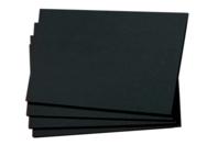 Feuilles noires 30 x 45 cm - 50 feuilles - Papiers Unis - 10doigts.fr