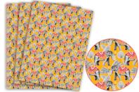 Papier Décopatch éléphants - 3 feuilles N°825 - Papiers Décopatch - 10doigts.fr
