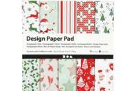Bloc papiers Noël - 50 feuilles - Papiers de Noël - 10doigts.fr