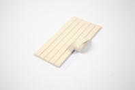 Pâte adhésive blanche - Planche de 100 gr - Colles - 10doigts.fr