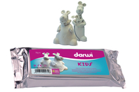 Pâte à modeler DARWI Kids - 1 kg - Pâtes à modeler qui sèchent à l'air - 10doigts.fr