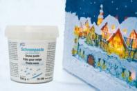 Pâte relief 3D effet neige - 150 ml - Peinture gonflante - 10doigts.fr