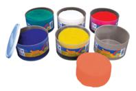 Pâtes à modeler (dès 2 ans) - 6 pots de 460 gr - Pâtes à modeler non durcissantes à l'air  - 10doigts.fr
