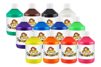 Peinture acrylique ultra brillante 10 Doigts - 500 ml - Acryliques scolaire - 10doigts.fr