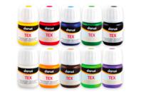 Peintures textile DARWI - Peinture Tissu - 10doigts.fr