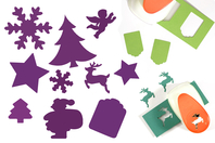 Perforatrices de Noël - à l'unité - Perforatrices fantaisies - 10doigts.fr