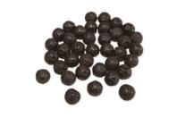 Perles de lave rondes  - Perles Lithothérapie - 10doigts.fr