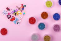 Perles de rocaille couleurs opaques - 9000 perles - Perles de rocaille - 10doigts.fr
