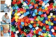 Perles fusibles à repasser, couleurs opaques - Perles Fusibles 5 mm - 10doigts.fr