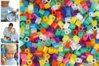 Perles fusibles à repasser, couleurs translucides - Perles à repasser - 10doigts.fr