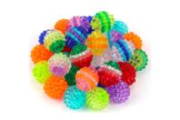 "Perles ""Graines de fruits"" - 50 perles - Perles acrylique - 10doigts.fr"