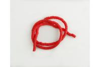 Perles Heishi rouge - environ 400 perles - Perles Heishi - 10doigts.fr