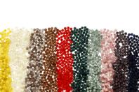 Perles rondes opaques et translucides - 1500 perles - Perles opaques - 10doigts.fr