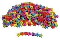 Perles Zig Zag - 1000 perles - Perles enfant - 10doigts.fr