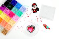 Perles fusibles Mini- Valisette 18000 perles - Perles à repasser - 10doigts.fr