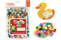 Perles à repasser Taille XXL  - 500 perles - Perles tons vifs - 10doigts.fr
