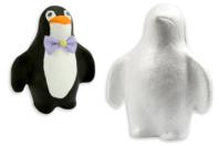 Pingouin en polystyrène 15,5 cm - Animaux - 10doigts.fr