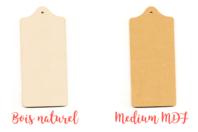 Planchette en bois ou MDF - 20 cm - Cuisine et vaisselle - 10doigts.fr