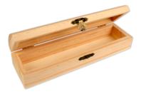 Coffret plumier en bois avec fermoir - Boîtes et coffrets - 10doigts.fr