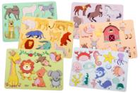 Pochoirs animaux - Set de 6 - Pochoirs Animaux - 10doigts.fr