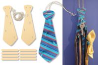 Porte-cravates ou porte-clés - Lot de 2 - Kits Supports et décorations - 10doigts.fr