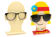 Porte-lunettes visage en bois - Divers - 10doigts.fr