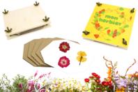 Presse à fleurs et feuilles - Kits activités Nature - 10doigts.fr