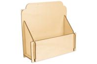Étagère à épices en bois à monter - Range-courriers - 10doigts.fr